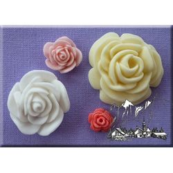 Roses (4 in 1) - Alphabet Moulds