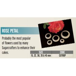 FMM-Rose Petal Set of 5