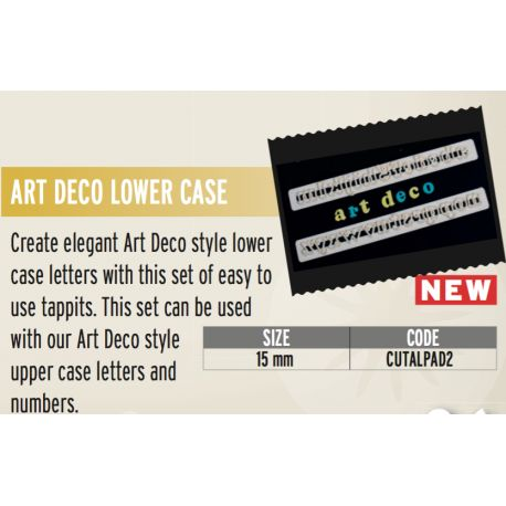 FMM-Art deco lower case