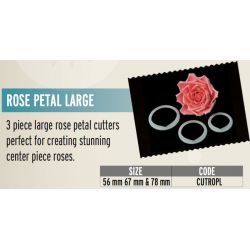 FMM-Rose Petal Cutter Large