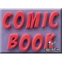 Comic Book Font - Alphabet Moulds