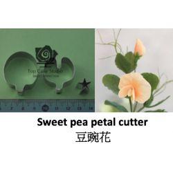 Sweet pea petal cutter, 3 pcs.