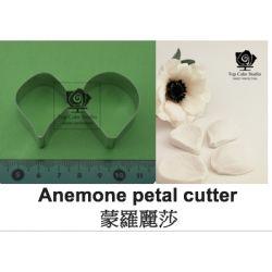 Anemone petal cutter, 2 pcs.