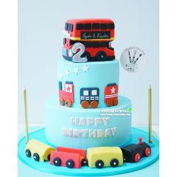 兩層巴士蛋糕