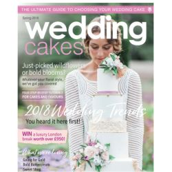 Wedding Cakes Magazine Spring 2018