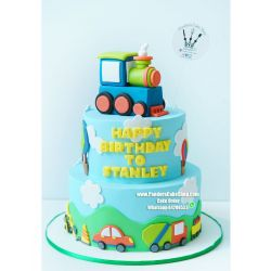 兩層火車蛋糕