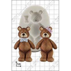 Teddy Silicone Mould - FPC