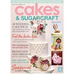 Cakes & Sugarcraft 2018年8-9月號