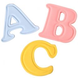 Cake Star Push Easy Cutters - Uppercase Alphabet Set 26 Piece