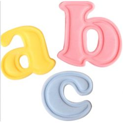 Cake Star Push Easy Cutters - Lowercase Alphabet Set 26 Piece