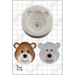 Bear Heads Silicone Mould - FPC