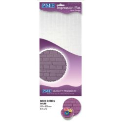 Brick Design Impression Mat - PME