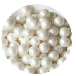 White 7mm Edible Pearls Dragees -120g