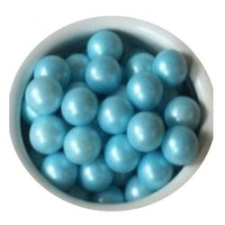 Blue 7mm Edible Pearls Dragees -120g