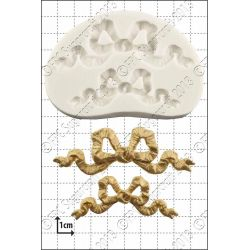 Ribbon and Bows Silicone Mould - FPC