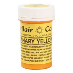 SugarFlair Canary Yellow (色膏) 25g
