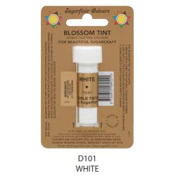 Sugarflair Edible Blossom Tint Dusting Colour -  White(7ml)
