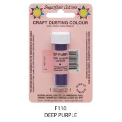 Sugarflair Craft Dusting Colour -Deep Purple(7ml)