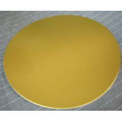 5吋金色蛋糕硬卡紙-10塊(1mm厚)