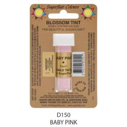 Sugarflair Edible Blossom Tint Dusting Colour -  Baby Pink(7ml)