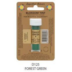 Sugarflair Edible Blossom Tint Dusting Colour -  Forest Green(7ml)