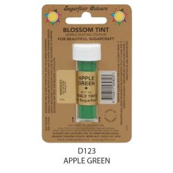 Sugarflair Edible Blossom Tint Dusting Colour -  Apple Green(7ml)