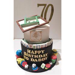 兩層麻雀蛋糕