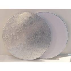 銀色蛋糕板10寸(10mm)