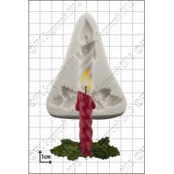Xmas Candles Silicone Mould - FPC