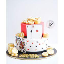兩層賭神蛋糕