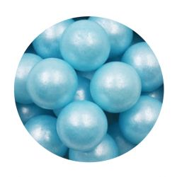 Blue 14mm Edible Pearls Dragees-200g