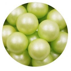 Green 14mm Edible Pearls Dragees-200g