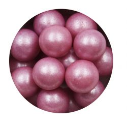 Purple 10mm Edible Pearls Dragees -120g