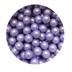 Purple 7mm Edible Pearls Dragees -120g