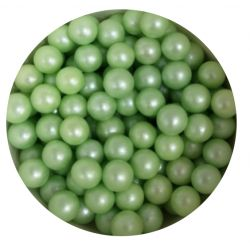 Green  7mm Edible Pearls Dragees -120g