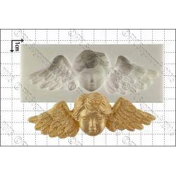 Winged Cherub Silicone Mould - FPC