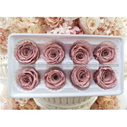 保鮮花-玫瑰(豆沙粉)