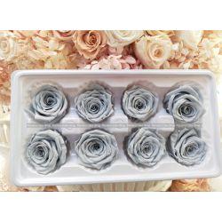 保鮮花-玫瑰(灰藍色)
