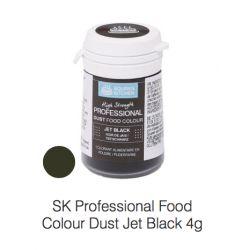 SK Professional Food Colour Dust Jet Black 4g