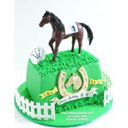 一層馬蛋糕