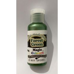 Magic Colours Edible Metallic Forest Green 32g Paint