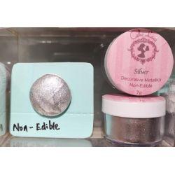 Cake Lace- Silver -(Non-Edible)7g
