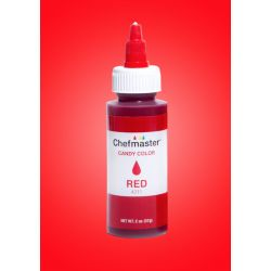 Chefmaster- Candy Color Red 2oz(57g)