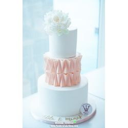 三層結婚蛋糕