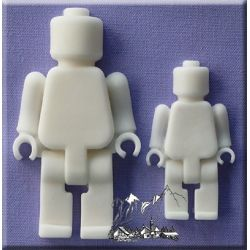 Brick Men  - Alphabet Moulds